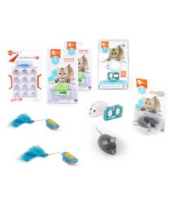 HEXBUG Deluxe nano® Cat Toy Pack Plus Remote Control