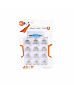 HEXBUG Batteries (12 pack) with Screwdriver
