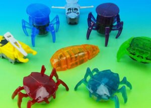 HEXBUG Headed for McDonald's Golden Arches