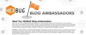 MEET OUR HEXBUG BLOG AMBASSADORS