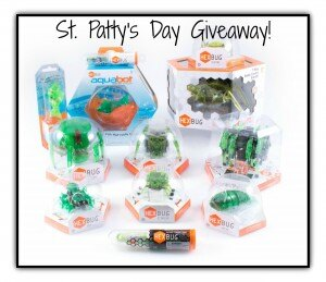 St. Patty's Day HEXBUG Giveaway