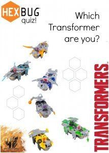 Which HEXBUG Transformers Character Are You?