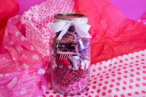 """Love Bug"" in a jar! A clever #HEXDIY gift for the Valentine in your life."