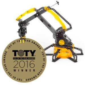 HEXBUG VEX Robotic Arm Named Educational Toy of the Year