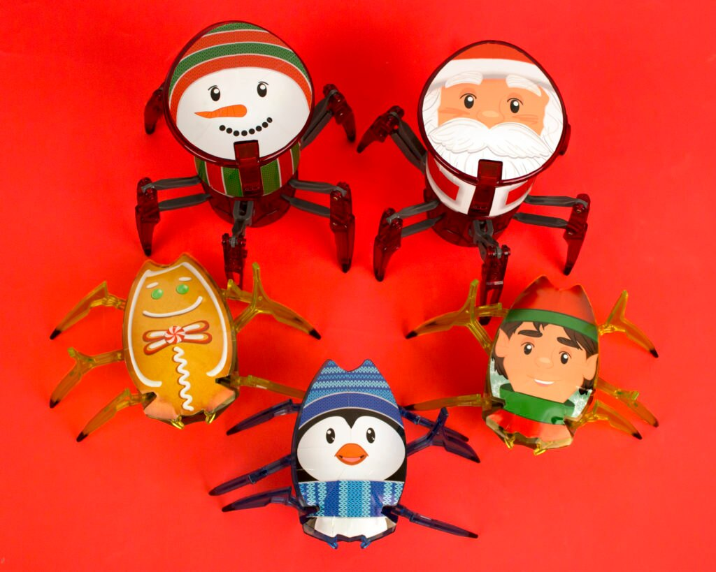 HEXBUG Holiday Decals - Finished Product