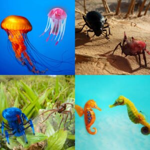 Real VS. Robotic: The Animals Behind the Toys
