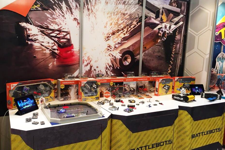 BattleBots Booth