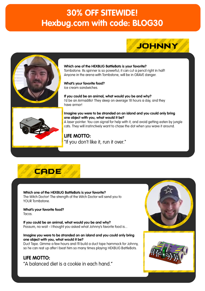 Get to know Johnny and Cade