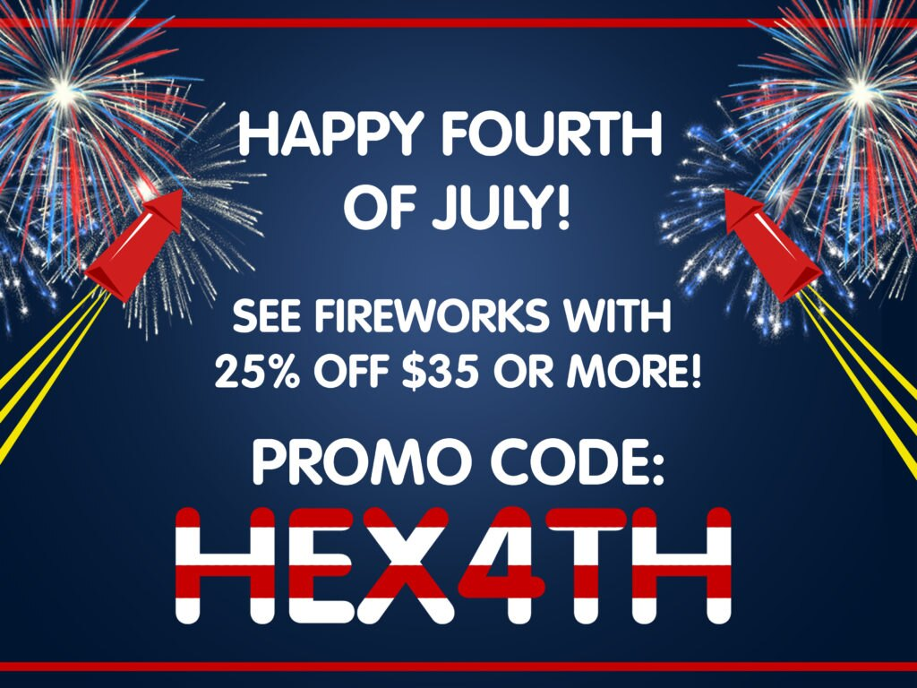 Happy 4th of July Promo Code - HEX4TH