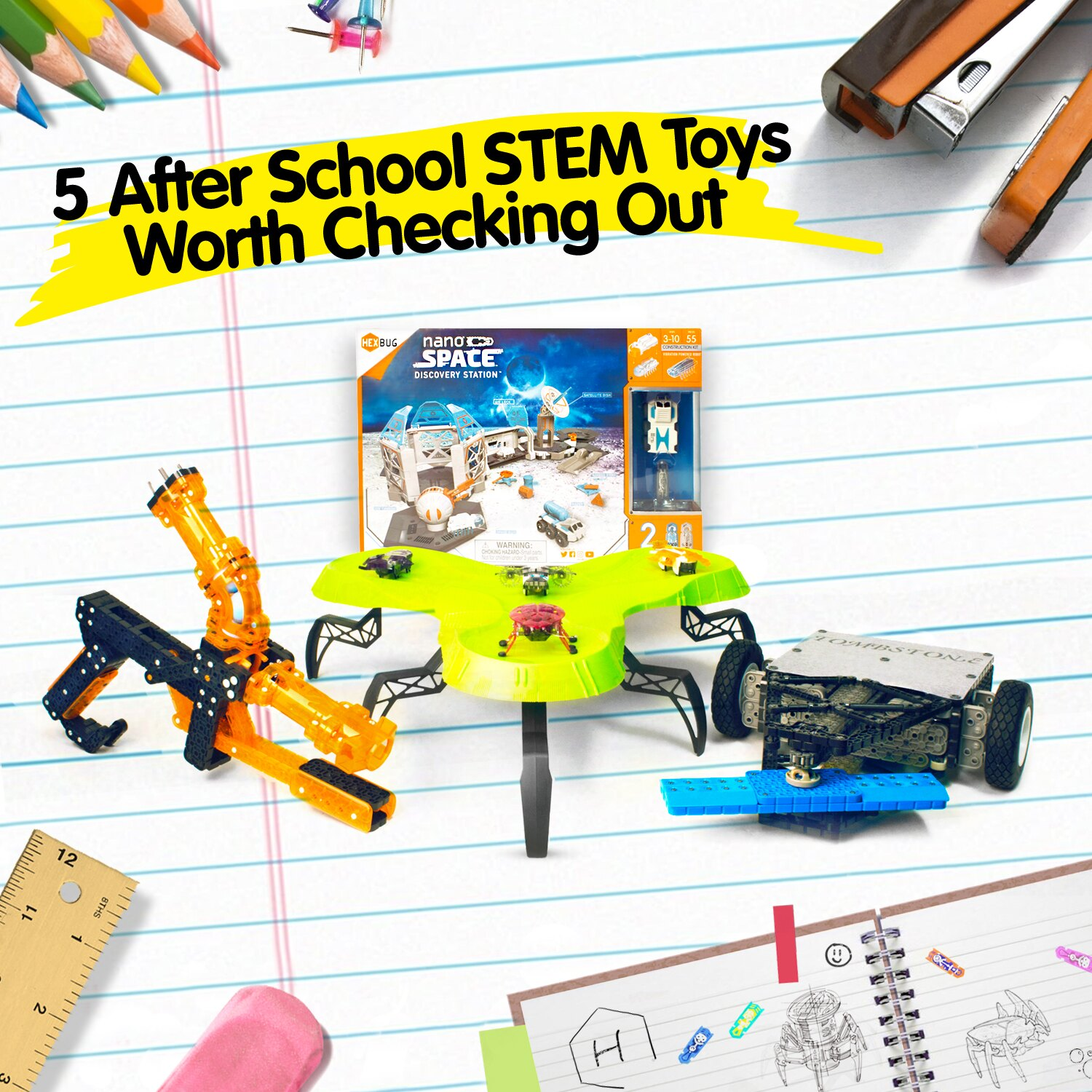 5 After School STEM Toys Worth Checking Out HEXHUB