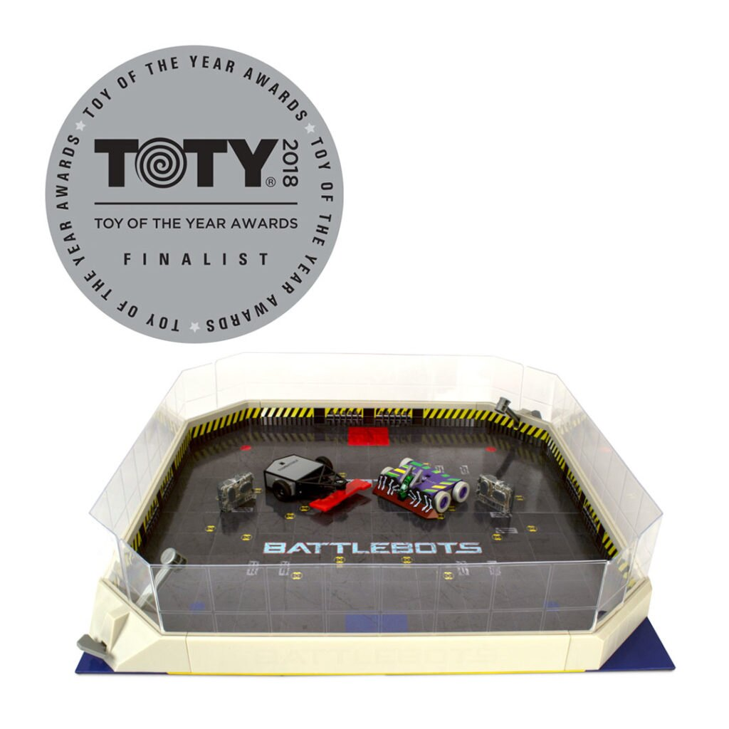 """INNOVATIVE TOY OF THE YEAR"" FINALIST: HEXBUG BATTLEBOTS ARENA"