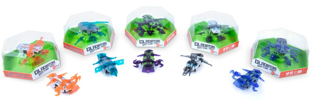 HEXBUG Gladiators Armor Up and Conquer!