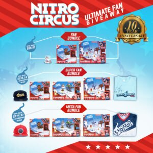 HEXBUG 10 Year Celebration: Ultimate Nitro Circus Giveaway