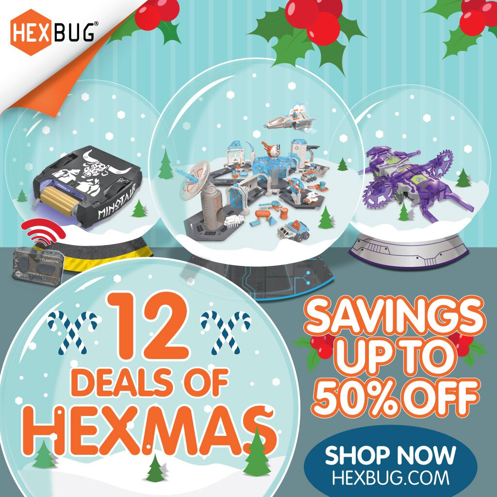 12 Deals of HEXMAS 2017 - Up to 50% in Savings