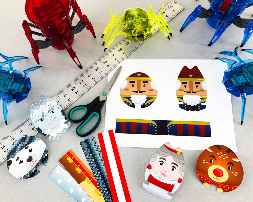 HEXBUG DIY Holiday Series 2 supplies