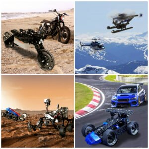Real VS. Robotic 3: From VEX to Vehicles