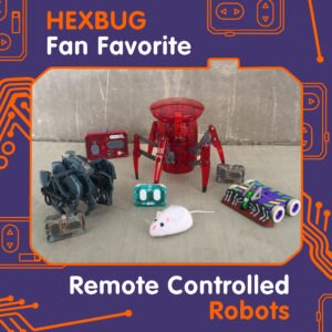 HEXBUG Fan Favorite Remote Controlled Robots
