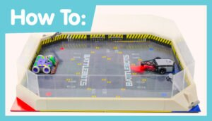 How to set up HEXBUG BattleBots Arena