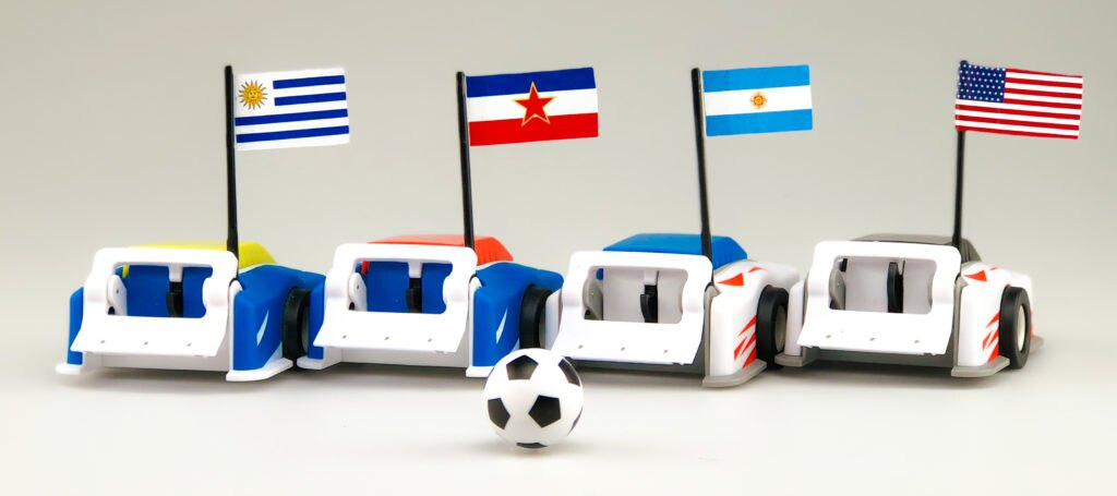 four teams that won the first world cup