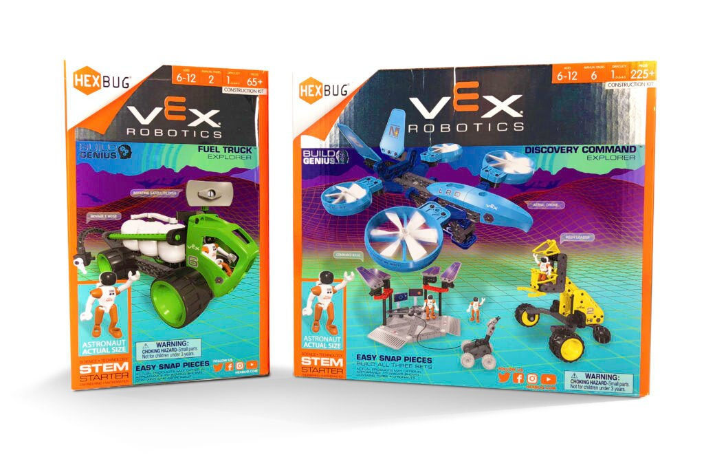 VEX Fuel Truck and VEX Discovery Command