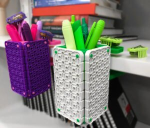 Back to School #HEXDIY Pencil Holder