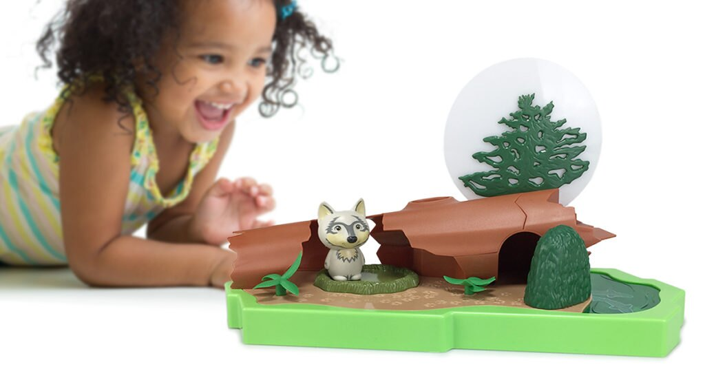 Lil' Nature Babies Large Wolf Playset