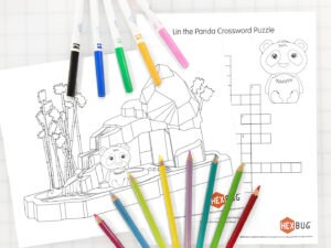 Free Printable Panda Activity Pages for Kids