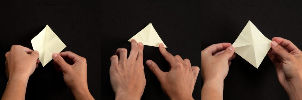 How to Make Origami Heart Love Notes - Step by Step Folding Instructions   341x1024